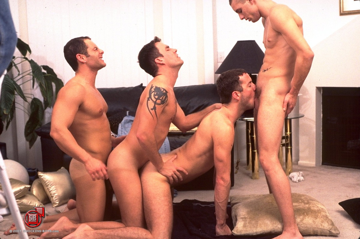 gay gang bang vids